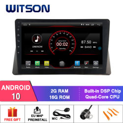 """Grande ecrã de 10,2"""" Witson Android Market 10 aluguer de DVD para as gerações 8 Honda Accord 2008-2013"""