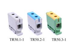 Allgemeinhinklemmenleistetr-Serie, Aluminiumkabel/kupfernes Kabel, 1 Pole, kompakte Größe 50 mm2