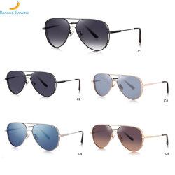 Ship Newly Fashion Metal Polarized Sunglasses에 2020 새로운 Double Bridge Man Sunglassready