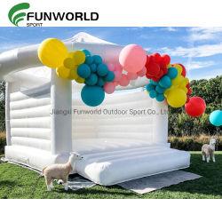 大人の熱い商業党結婚式の跳躍の城は跳ね返り式家をである イベントデコレーション用のホワイトバウンサーテント