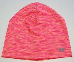 BSCI меланж цветов светоотражающей Double-Layers напечатано полиэстер Джерси Beanie Red Hat