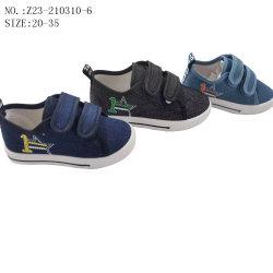 حقن عالي الجودة أحذية مخصصة للأطفال أحذية مسطحة الطلاب قماش غير رسمي المداسات (Z23-210310-6)
