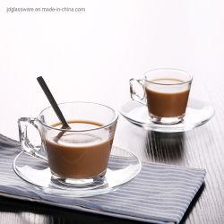 De Mokken van de koffie met de Reeks van de Kop van het Glas van de Koffie van de Plaat van het Glas