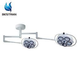 BT-LED255 مصباح LED مزدوج الرأس مثبت بالسقف رخيص الجراحة الطبية الباردة تضيء سعر الذراع