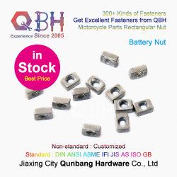# En Stock # Qbh personalizada Fabrica de 4,8 m5 de simple rectángulo Autocycle M6 de batería de repuesto del motor de pernos y tuercas de los componentes accesorios de motocicletas motor Parts