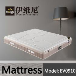 最もよい小型のSizeばねの乳液のベッド販売のためのマットレスによってカスタマイズされる王のシングル・ベッドの中国のマットレスの工場使用