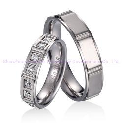 Form schellt 2020 Frauen der Finger-Ring-Diamant 2 Gramm-Goldring-Männer