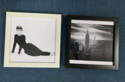 Il nero moderno all'ingrosso allarga il blocco per grafici quadrato di plastica Mixtile della foto della gomma piuma di ENV