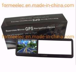 Espejo retrovisor del coche de 4,3 pulgadas Navegador GPS de navegación del vehículo