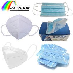 Polvere di modo maschera medica/a gettare/chirurgica Ffp3/N95/Kn95 del respiratore antivirale della 3/4/5 di piega di protezione