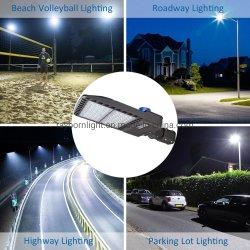 Boîtier en aluminium étanche 100W/200W/300W à LED feux de la rue de la rue pour les autoroutes de l'École des feux de terrain de football du stade de la Cour de l'éclairage Lampe avec garantie de 5 ans