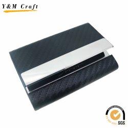 Qualitäts-erstklassiges Metallleder-Namenskartenhalter