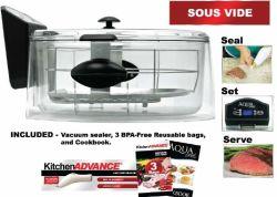De nieuwe Oven van het Water van het Kooktoestel van Sous Vide van de Duidelijkheid van Aquachef van de Stijl Slimme Langzame