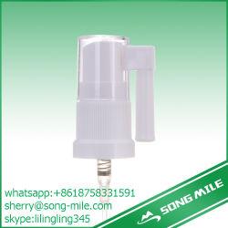 Le pulvérisateur nasal, médicament liquide avec de la pompe du pulvérisateur comme couvercle