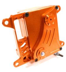 CNC blanchi de précision en aluminium usiné de billettes Case Servo