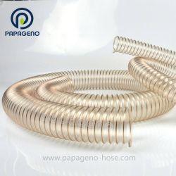 Copper-Plated souple de haute qualité du fil en acier renforcé en spirale PU flexible conduit d'air