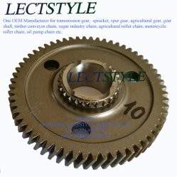 Погрузчик вилочный погрузчик трактора автомобильной шестерни привода масляного насоса