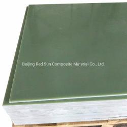 Tensão alta G10 FR4 Electrial Folha Insualting Material de fibra de vidro de resina epóxi Board para o painel de distribuição