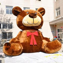 Venta caliente inflable oso de peluche personalizado encantador