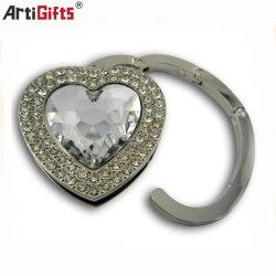 모조 다이아몬드를 가진 형식 부대 부속품 지갑 걸이