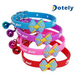 Collana registrabile del collare del piccolo legame della Bell del cane del gatto dell'animale domestico