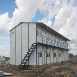 방수 쉬운 구조 노동자 기숙사 Prefabricated 집 중국제