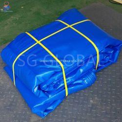 Двойной водонепроницаемый синий полиэтиленовый мешок из полимера PE