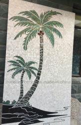Mãe natural de Pearl mosaico de imagens em mosaico de Shell (HMP100)