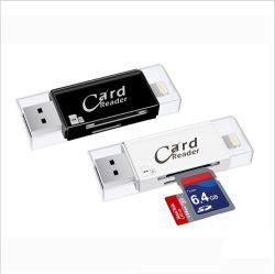 OTG Kartenleser-Typ C Mikro-USB-Multifunktionskarten-Leser für MacBook PC iPhone