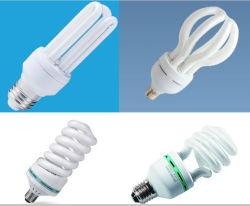 U 모양 또는 절반 나선 또는 가득 차있는 나선 또는 로터스 7W-125W 에너지 절약 램프