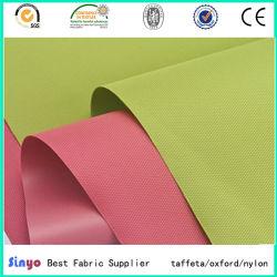Soft fino tecido de poliéster com revestimento de PVC para sacos de Peso Leve