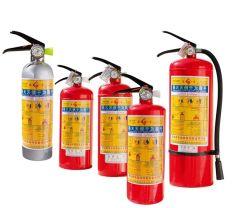 ABC de gros de matériel de lutte contre les incendies de CO2 de l'extincteur avec CCC