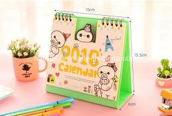 Abitudine il calendario della scrivania, stampa di carta del calendario