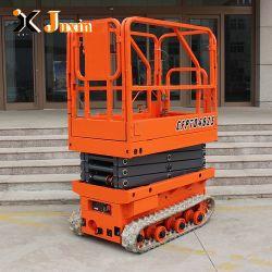 200 кг мини-завод прямой продажи Гидравлический гусеничный Электрический подъемный стол ножничного типа