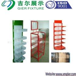 Из дерева и деревянные/провод/металлическая подставка для дисплея для рынка Surper/магазин розничной торговли /коврик стеллажей, система хранения данных для установки в стойку