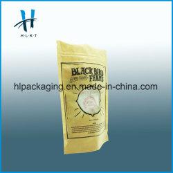 Stand up do saco plástico para embalagens de alimentos com Ziplock