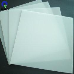 Blanco la hoja de plástico de PVC rígido de Poker