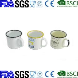 6cm 8 cm 10cm panelas Enamelware Copa Caneca de esmalte de porcelana