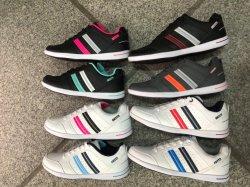 Parte superior de cuero 8 Colores Dama Zapatos de Skate con gran cantidad