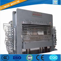 800t 6*8 multicouches en mélamine de contreplaqué stratifié aluminium Presse à chaud