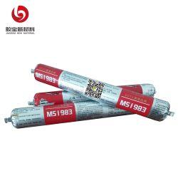 Cov Baixa Resistência às intempéries selante de Polímero MS Polímero Cola estrutural