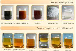 Verwendetes Pflanzenöl, verwendetes kochendes Öl, Küche-Abfälle, überschüssiges Öl-aufbereitendes Gerät/Maschine/Maschinerie, zum von Boidiesel, organisches Düngemittel, Massenöl zu produzieren