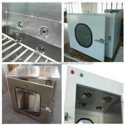Edelstahl-Durchlauf-Kasten für Cleanroom-Gerät