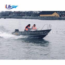 Ilife 판매를 위한 알루미늄 Bowrider Jon 배 구조 전동기 오두막 함 근해 어업 요트 배
