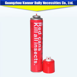 Rot macht Aerosol-Moskito-abstoßenden Spray-Aerosol-Insektenvertilgungsmittel-Spray ein