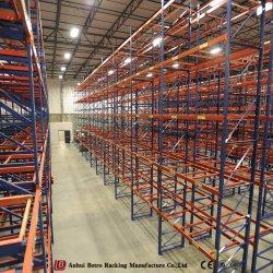 中国の製造者の金属線の棚付けのタイプ倉庫ラックシステム
