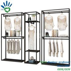 Billiges Mode Bekleidungsgeschäft Display Ständer Rack Dekoration Möbel