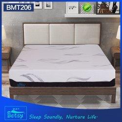 OEM сжатый True спальный матрас из пеноматериала памяти 32см с трикотажные ткани и массажный кабинет кривой из пеноматериала