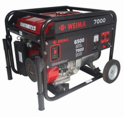 6.5kw Wind Cooling Recoin/Electric Start Gasoline Generator