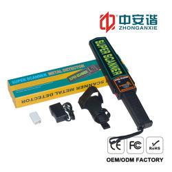 Ordinateur de poche haute performance corps scanner avec la vibration de l'alarme du détecteur de métal